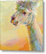 Lolly Llama Metal Print