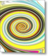 Lollypop Swirl  Metal Print
