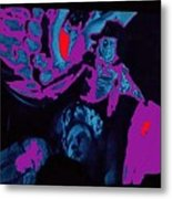 Lon Chaney Phantom Of The Opera 3 Publicity Photo 1925-2011 Metal Print