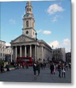London - Sunny Day Metal Print