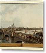 London 1802 Metal Print