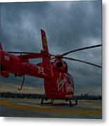 London Air Ambulance Metal Print