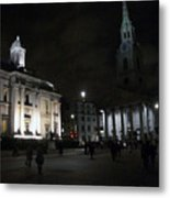 London At Night Metal Print