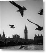 London, Big Ben  Metal Print