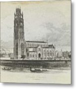 London Boston Church. Metal Print