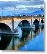 London Bridge At Sunrise Metal Print