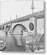 London Bridge Lake Havasu City Arizona Metal Print