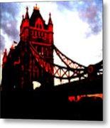 London Bridge No 3 Metal Print
