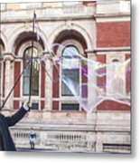 London Bubbles 9 Metal Print