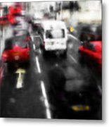 London By Bus Metal Print