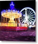 London Christmas Markets 19 Metal Print