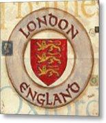 London Coat Of Arms Metal Print
