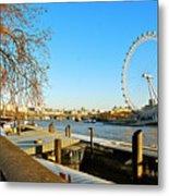 London Eye Metal Print