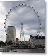 London Eye View Metal Print
