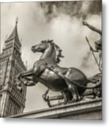 London Guardians Metal Print