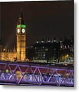 London Lights Metal Print