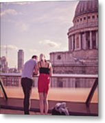 London Love, Love London Metal Print