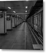 London Mile End Station Metal Print