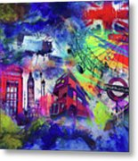 London Portrait  Metal Print