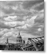 London - St. Pauls Cathedrale Metal Print