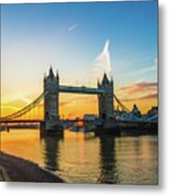 London Sunrise 2 Metal Print