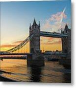 London Sunrise Metal Print