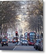 London Thoroughfare Metal Print