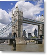 London Towerbridge Metal Print