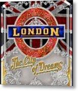 London Town Metal Print