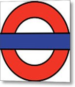 London Underground Blank Metal Print