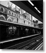 London Underground Station Metal Print