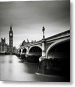 London Westminster Metal Print