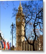 London's Big Ben Metal Print
