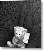Lone Bear Metal Print
