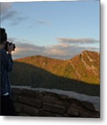 Lone Photographer I Metal Print