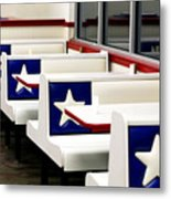 Lone Star Dairy Queen Metal Print