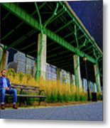 Loneliness In The City Metal Print