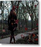 Lonely Autumn Metal Print