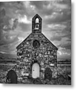 Lonely Chapel Metal Print