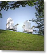 Lonely Companions Metal Print