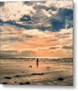 Lonely Couple  Metal Print