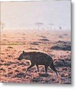 Lonely Hunter Metal Print