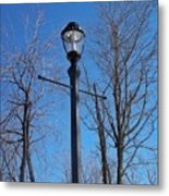 Lonely Lamp Post Metal Print by Deborah MacQuarrie-Haig