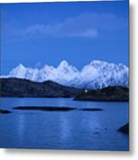 Lonely Lighthouse Metal Print