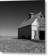 Lonely Old Barn Metal Print