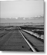 Lonely Route 24 Metal Print