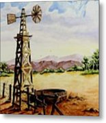 Lonesome Prairie Metal Print