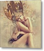 Lonesome Thoughts Metal Print