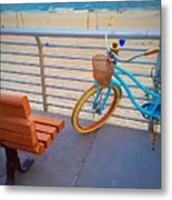 Long Beach Cruiser Metal Print