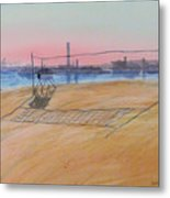 Long Beach Icons Metal Print